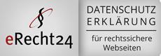 Datenschutzerklärung von eRecht24